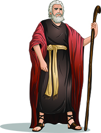 bigstock-Moses-From-Bible-For-Passover-61911185